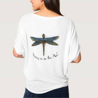 Spring is in the Air Dragonfly T-shirt