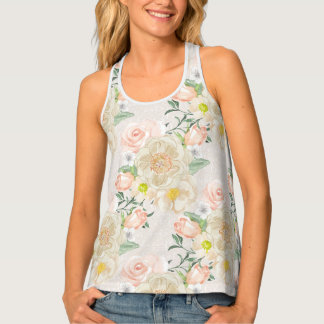 Spring is in the air | Pretty flowers floral Tank Top
