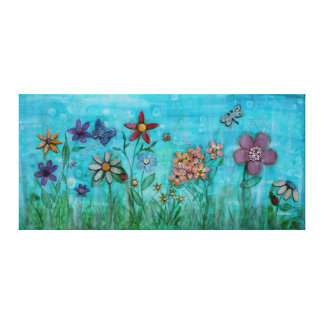 Spring is in the Air Stretched Canvas Prints