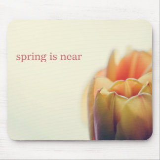 Spring is near mouse pad