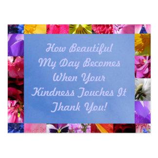 Spring Kindness Postcard