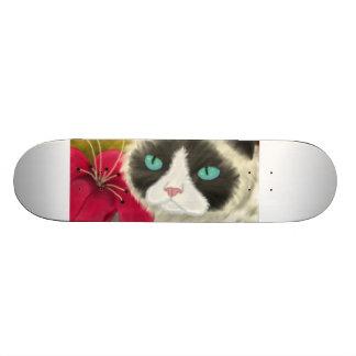 Spring Kitty Skateboard