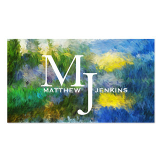 Spring Lake Impressions Biz Card Template Pack Of Standard Business Cards