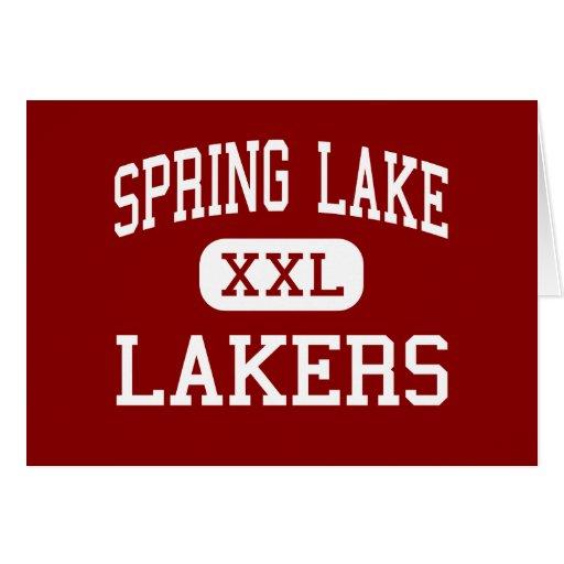 Spring Lake - Lakers - High - Spring Lake Michigan Greeting Cards