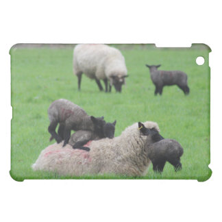 Spring Lamb and Sheep Cover For The iPad Mini