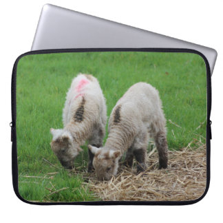 Spring Lambs Laptop Sleeve