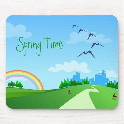 Spring landscape, mousepad