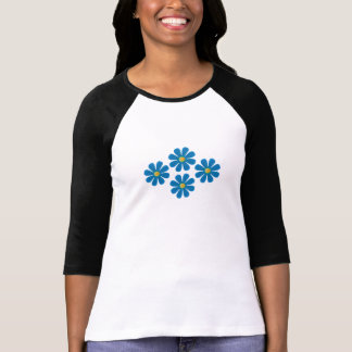 Spring light blue flowers T-Shirt