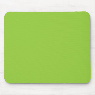 Spring Light Lime Green Color Trend Blank Template Mouse Pad