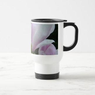spring light purple magnolia flowers mugs