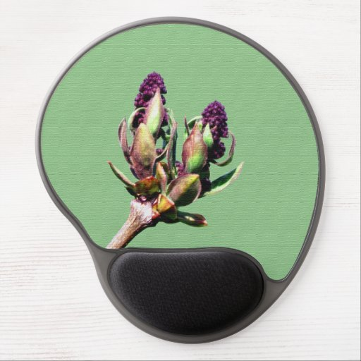 Spring Lilac bud Gel Mouse Mat
