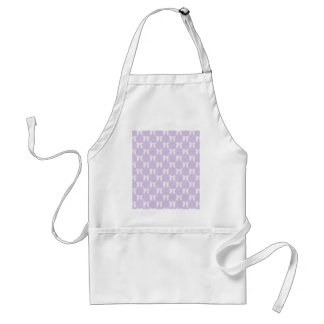 Spring Lilac Pastel With White Bows Aprons