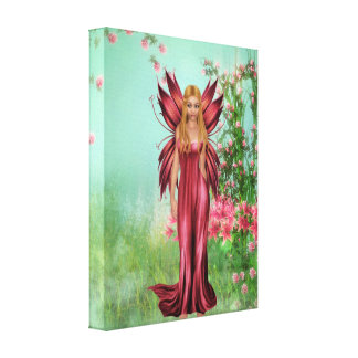 Spring Lily Canvas Prints