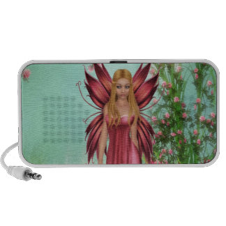 Spring Lily Laptop Speakers