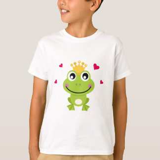 Spring little green Frog in love T-Shirt