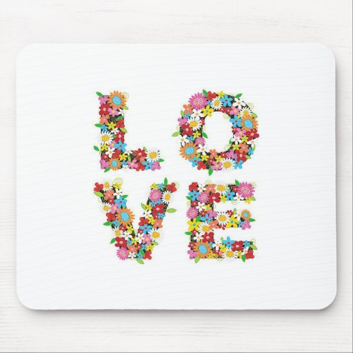 Spring Love Mouse Mat