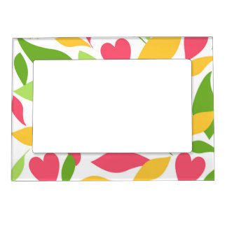 Spring Magnetic Picture Frame