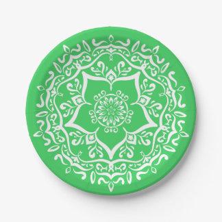 Spring Mandala 7 Inch Paper Plate