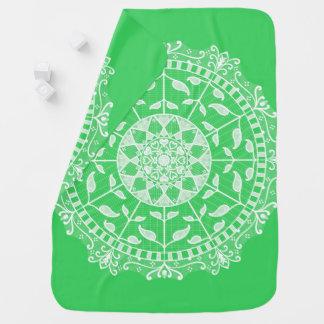 Spring Mandala Baby Blanket