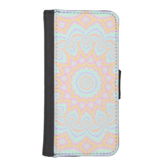 Spring Mandala iPhone SE/5/5s Wallet Case