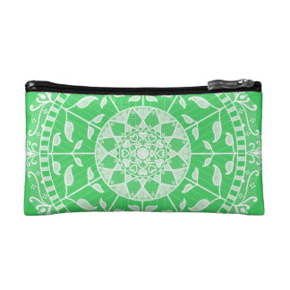 Spring Mandala Makeup Bag