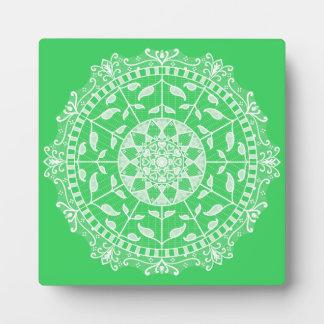 Spring Mandala Plaque