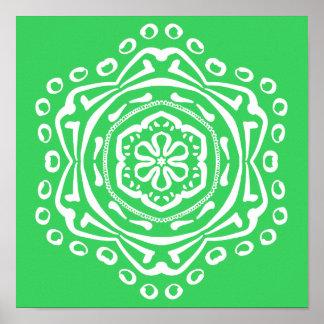 Spring Mandala Poster