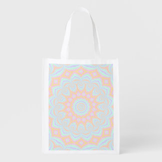 Spring Mandala Reusable Grocery Bag