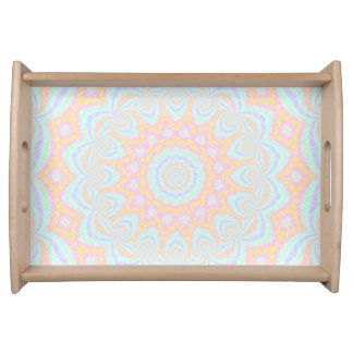 Spring Mandala Serving Tray