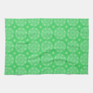 Spring Mandala Tea Towel