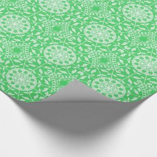 Spring Mandala Wrapping Paper