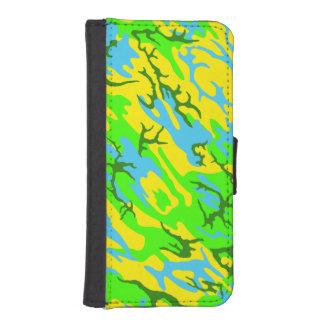 Spring Meadow Camo iPhone SE/5/5s Wallet Case