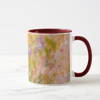 """Spring Meadow"" Impressionist Garden Art Mug"
