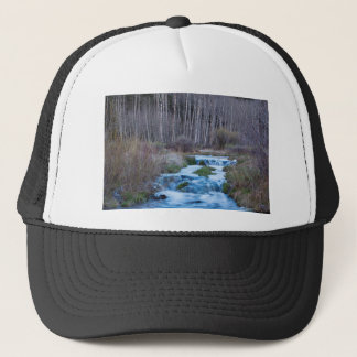 Spring Melt Off Flowing Down From Bonanza Trucker Hat
