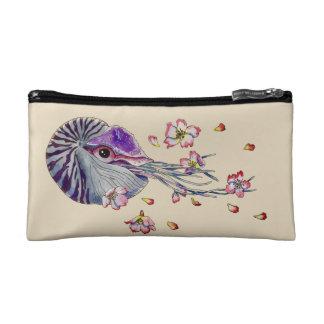 spring nautilus makeup bag