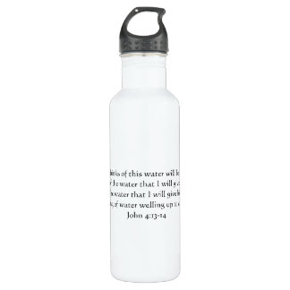 Spring of Eternal Water Water Bottle John 4:13-14