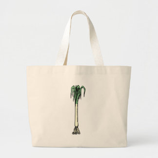 Spring Onion Large Tote Bag