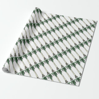 Spring Onion Wrapping Paper