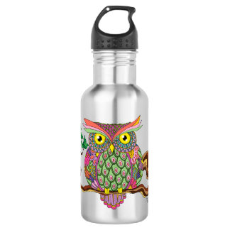 Spring Owl 532 Ml Water Bottle