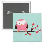 Spring Owl Pin