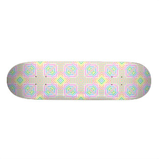 Spring Pastels Seamless Abstract Skateboard