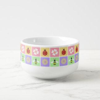 Spring Patches Soup Mug