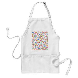 Spring pattern standard apron