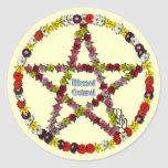 Spring Pentical Stickers