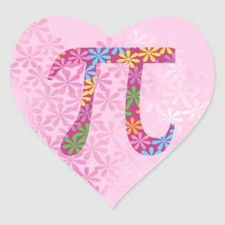 Spring Pi Stickers - Floral Pi Day Gift