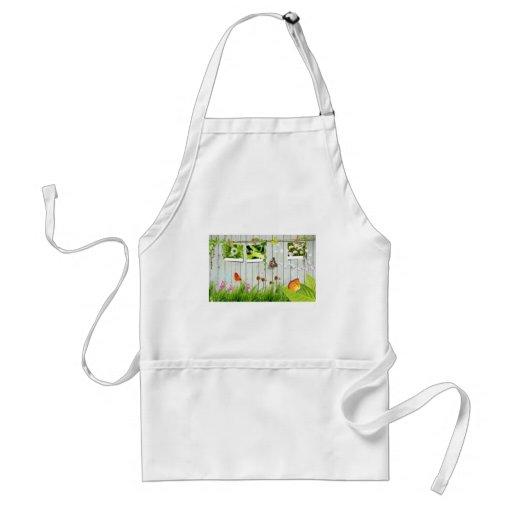 spring pic apron