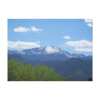 Spring Pikes Peak canvas Canvas Prints
