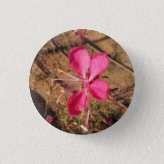 Spring Pink Flower Button