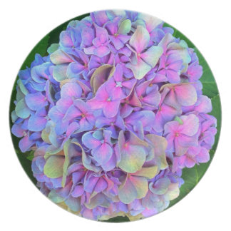 Spring Pink-Purple Flower Plate