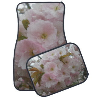 Spring Pinky Car Floor Mats (Full Set)